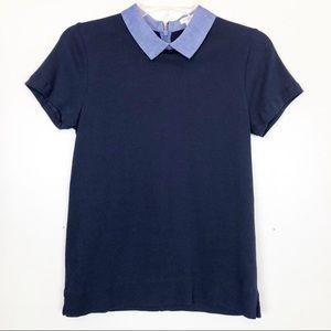 J. Crew Peter Pan Collar Shirt